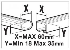 Menabo Dachbox Mania 320 Maße