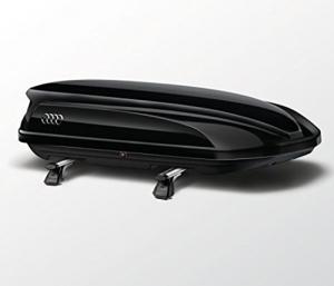 Audi Original Zubehör Ski- und Gepäckbox Dachbox 8K0071200 Y9B -
