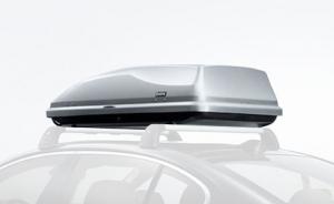 Original BMW Dachbox Gepäckbox 350 Liter silber -